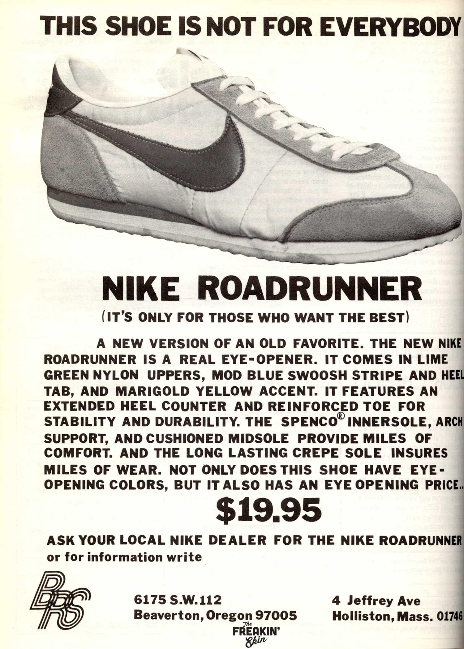 Nike Roadrunner 1970s vintage sneakers | Vintage sneakers