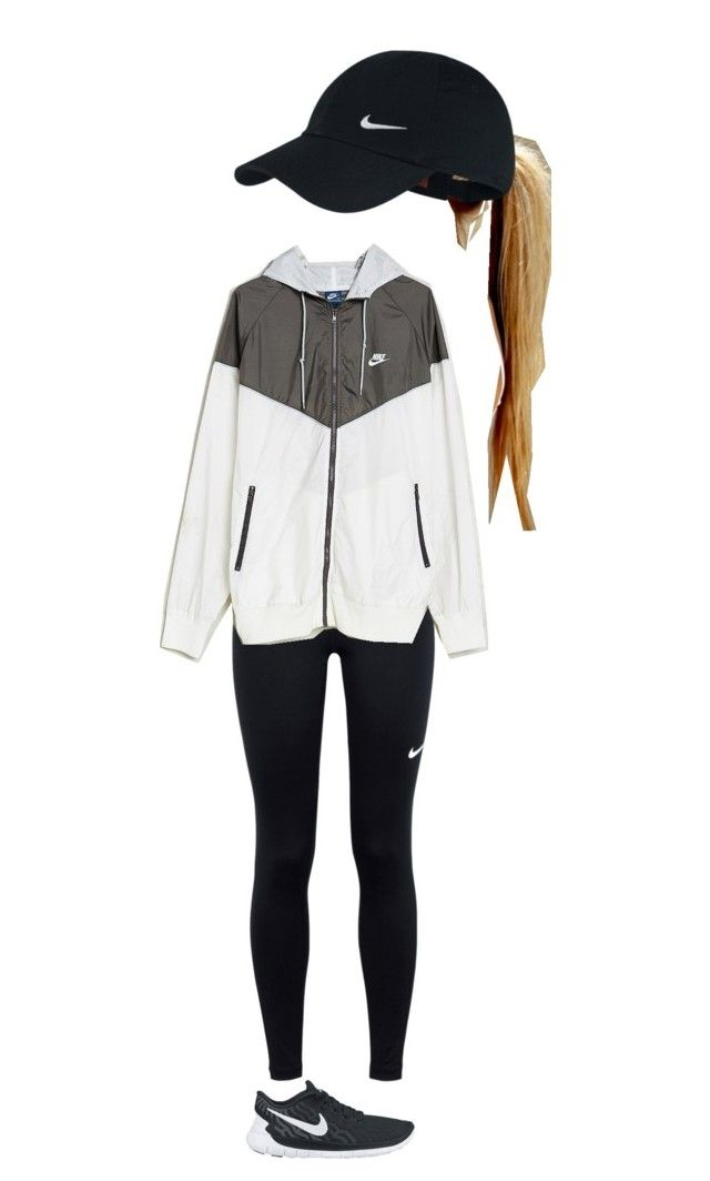 """""""ready for football season!"""" by kyleemorrison ❤ liked on Polyvore featuring NIKE and Without Walls"""