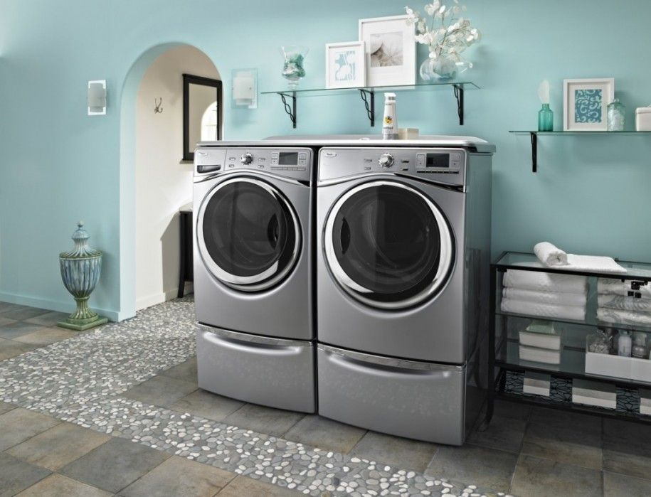 Bring The Beauty Nuance In The Home Interior Through Paint Colors Blue Laundry Room Of Paint Colors Blue Laundry Rooms Laundry Room Colors Laundry Room Rugs