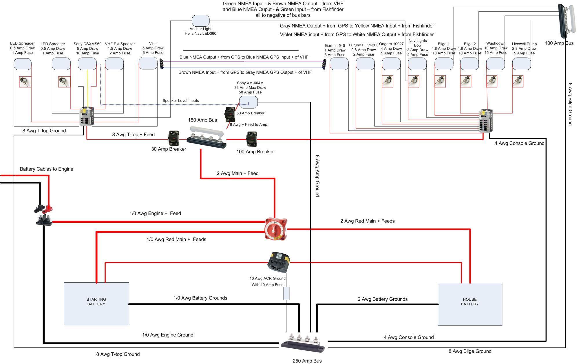 Boat Motor Wiring Diagram