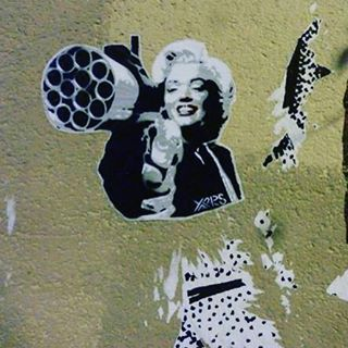 #striker #stencil #urbanwalls #streetphotography #streetart... #InspireArt - http://wp.me/p6qjkV-4lw  #Art