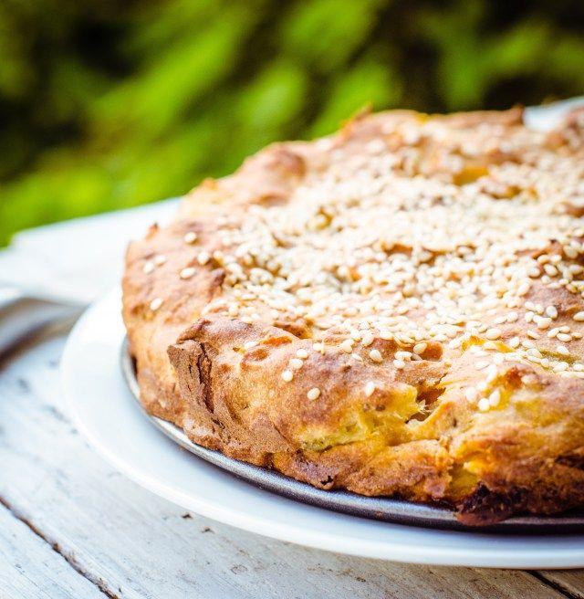 pineapple & ginger vegan cake