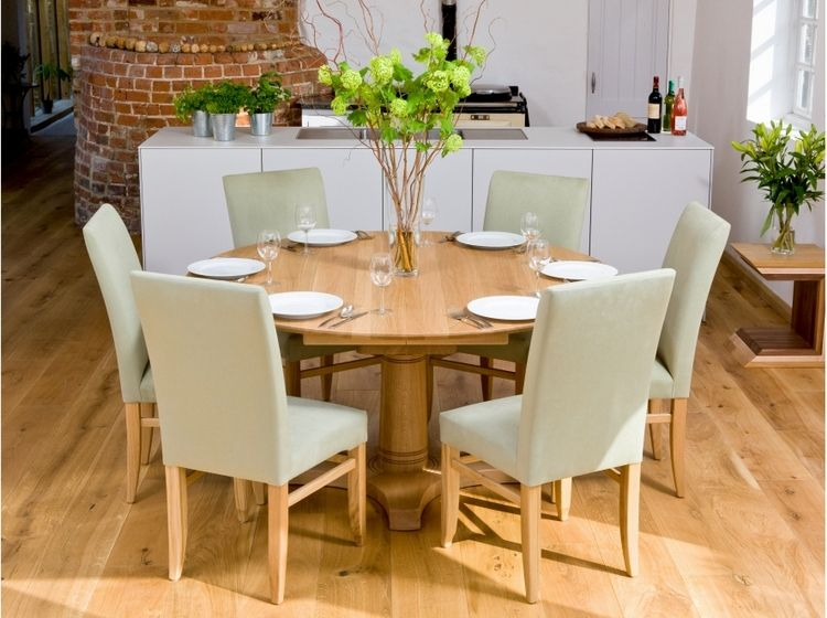Round Dining Table 6 Chairs D Sko, 60 Inch Round Dining Table With 6 Chairs Set
