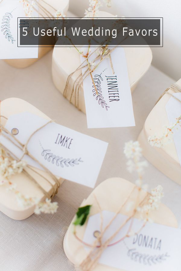 Top 5 Useful Wedding Favor Ideas Your Guest Will Love