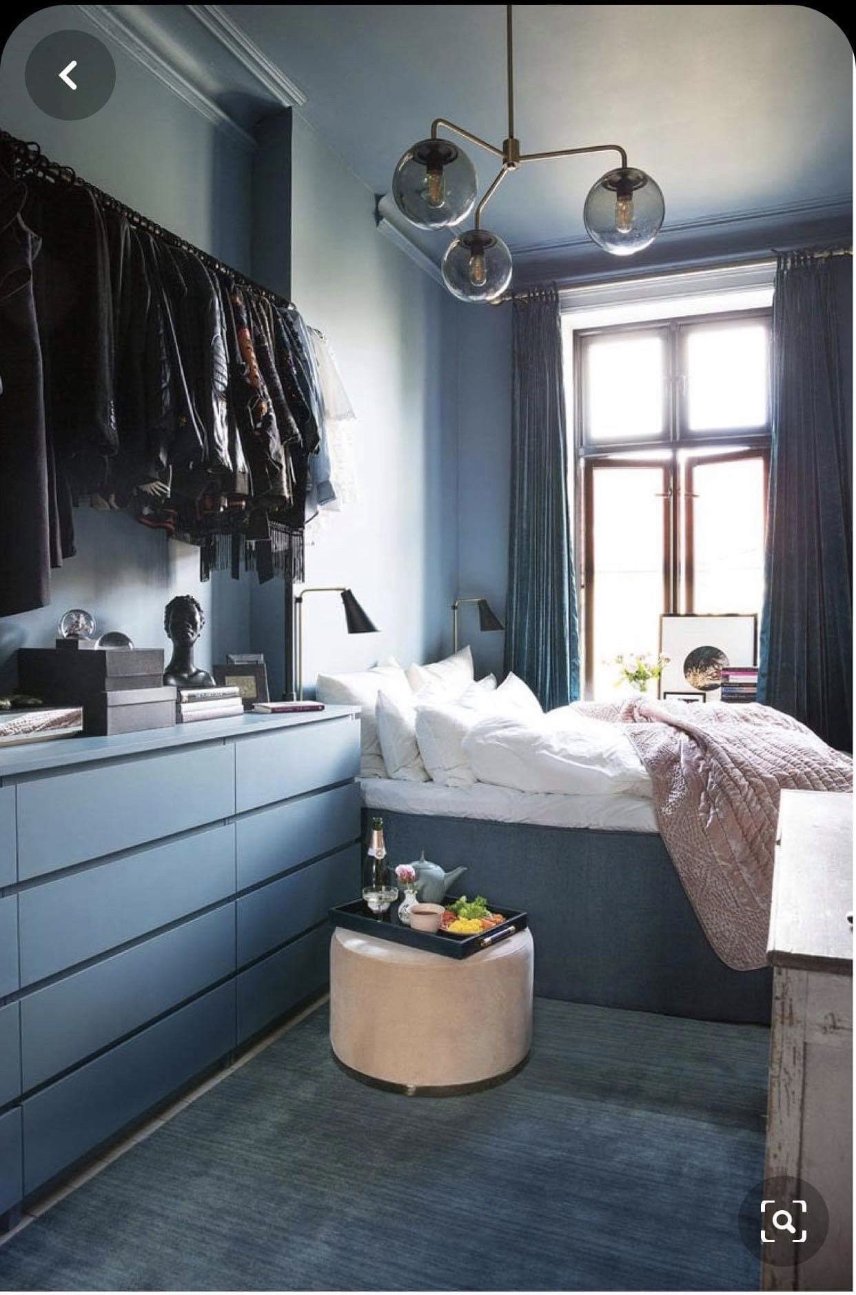 Photo of Malm Ikea sovrum