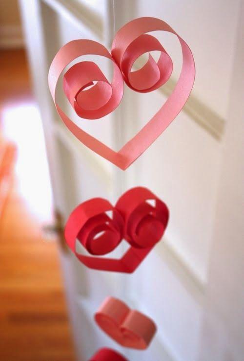 Manualidades Para San Valentin Bonitos Corazones Para Decorar Un - Decorar-para-san-valentin