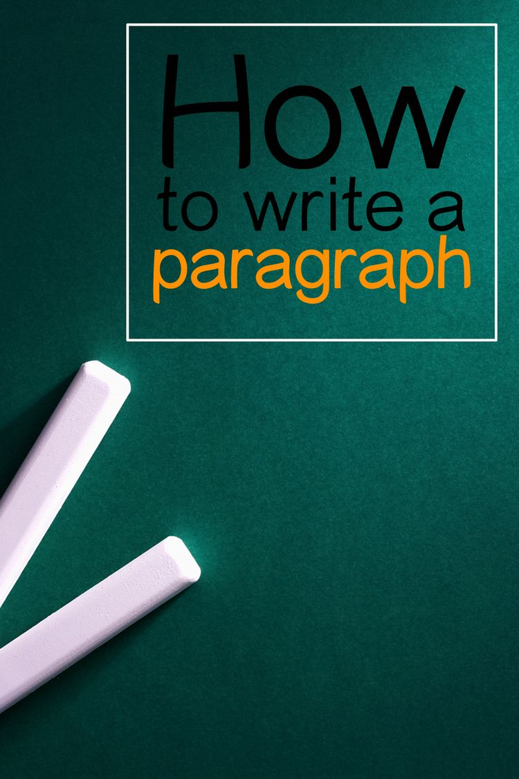 How to write a paragraph elementary school students