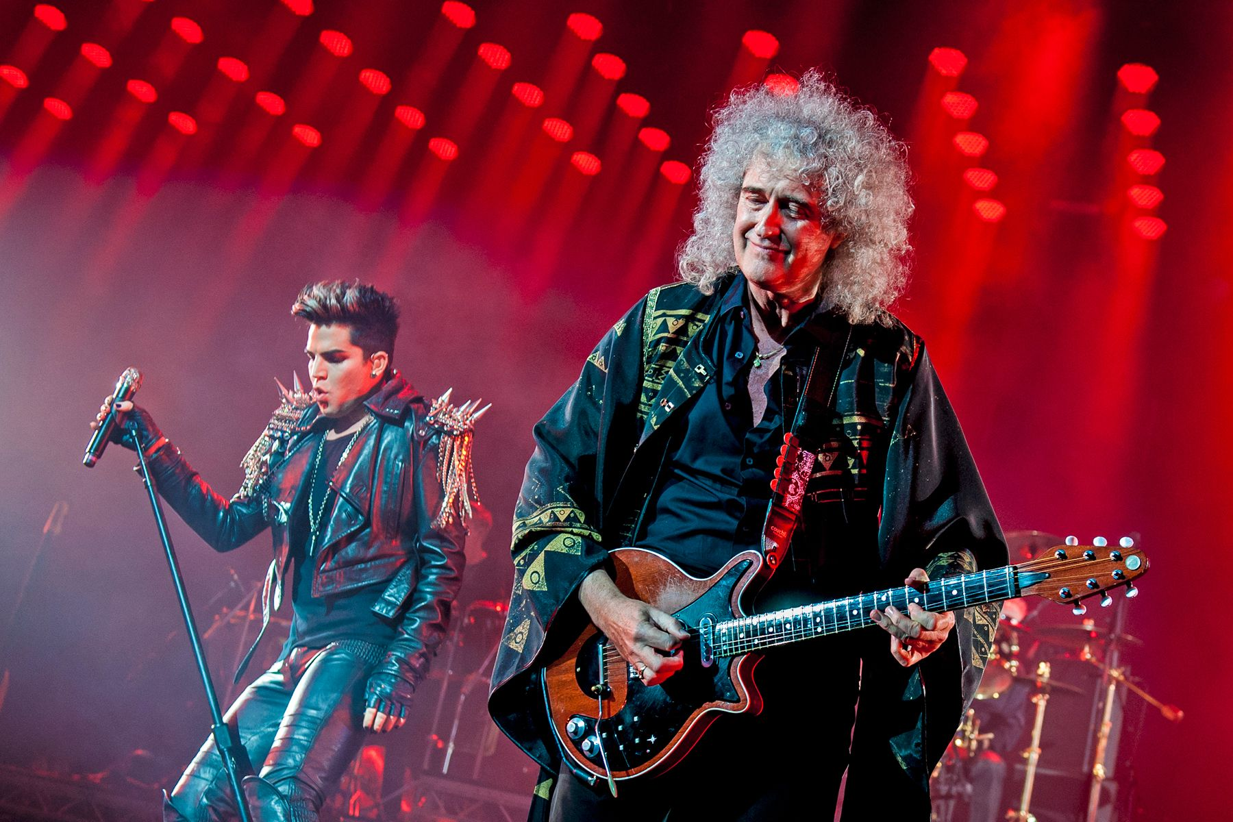 Adam Lambert w/Queen London show