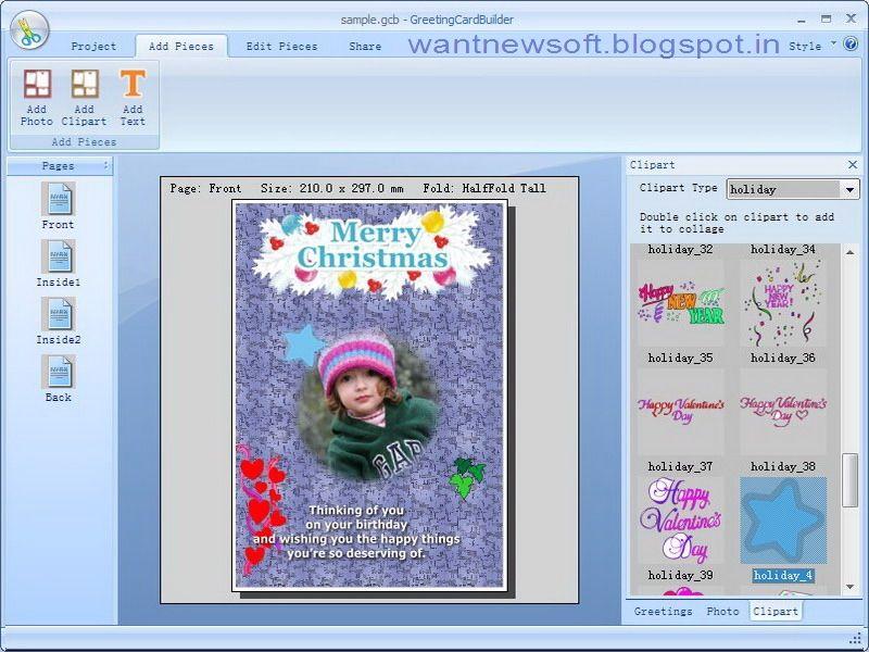 Greeting Card Builder Free Download Full Version Sos Read More At