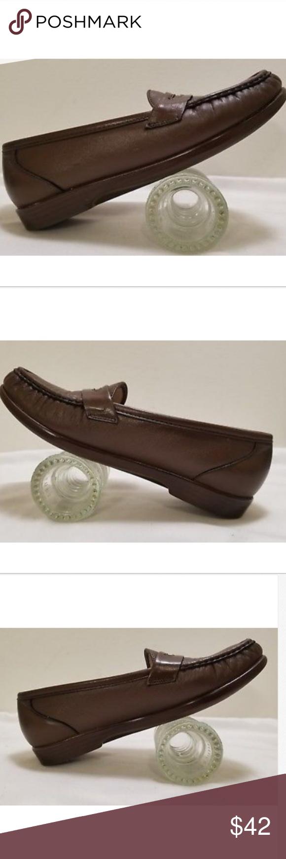 Sas tripad comfort moc toe penny loafers size m penny loafers
