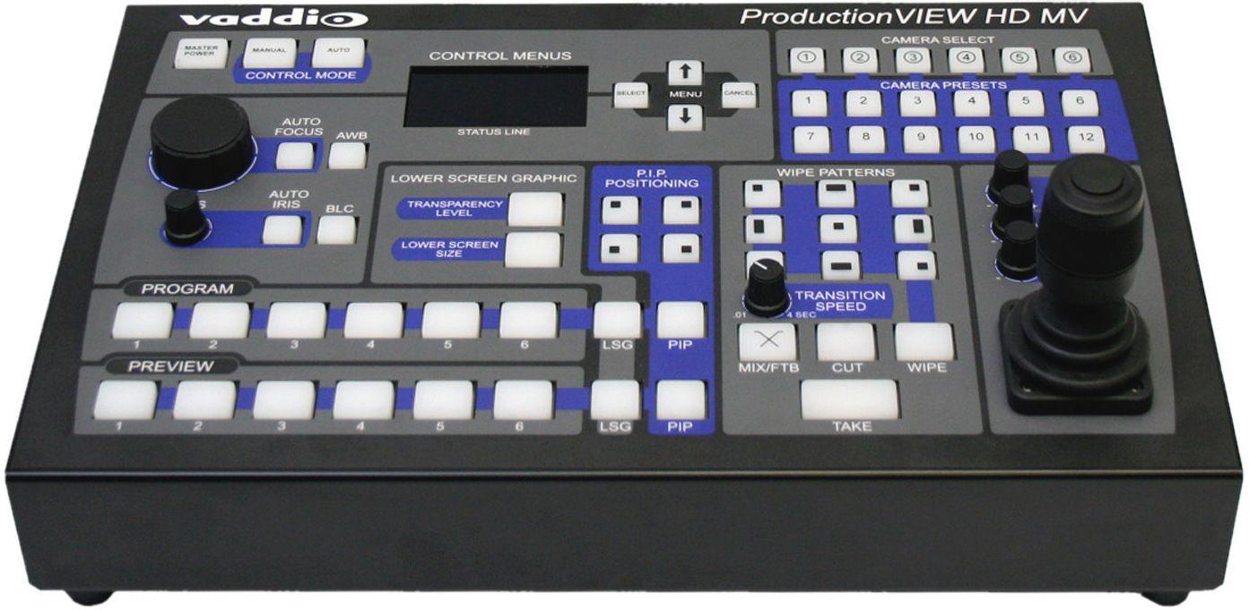 Vaddio 999 5625 000 Production View Hd Mv Camera Control Console