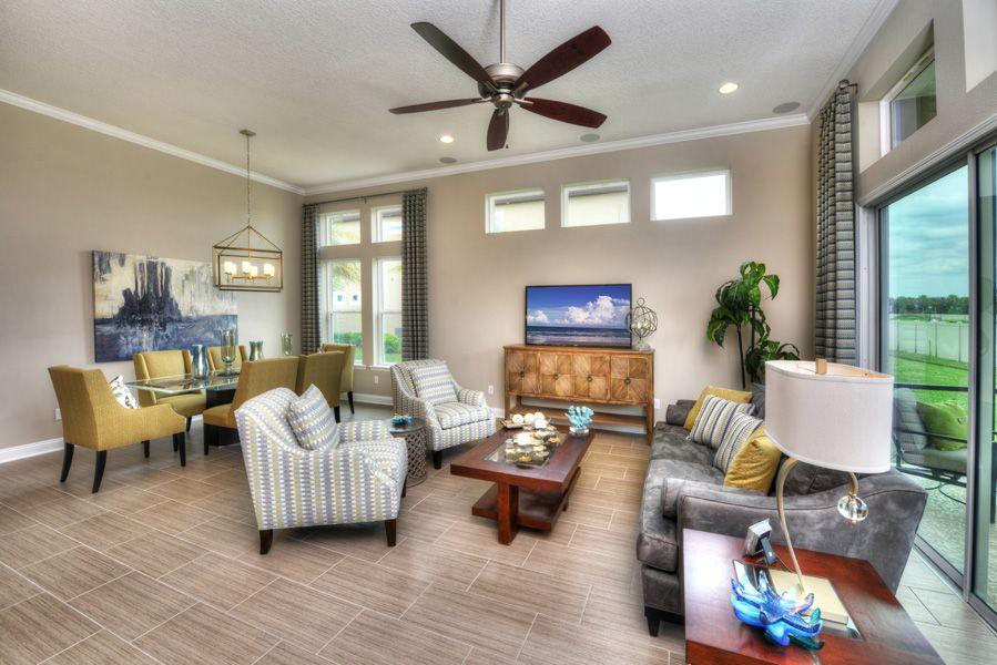 the serena in nocatee  beautiful living rooms outdoor