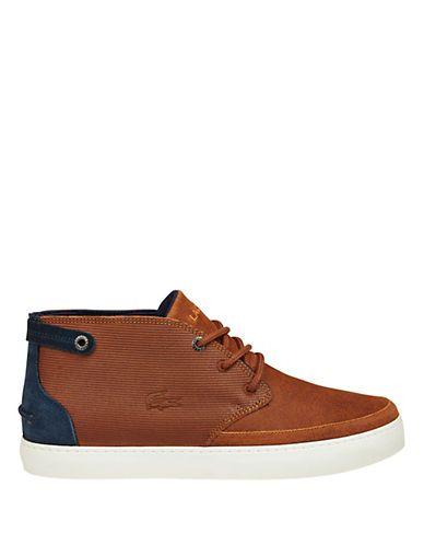 795cead9db7492 Lacoste Clavel Chukka Boots Men s Tan 10