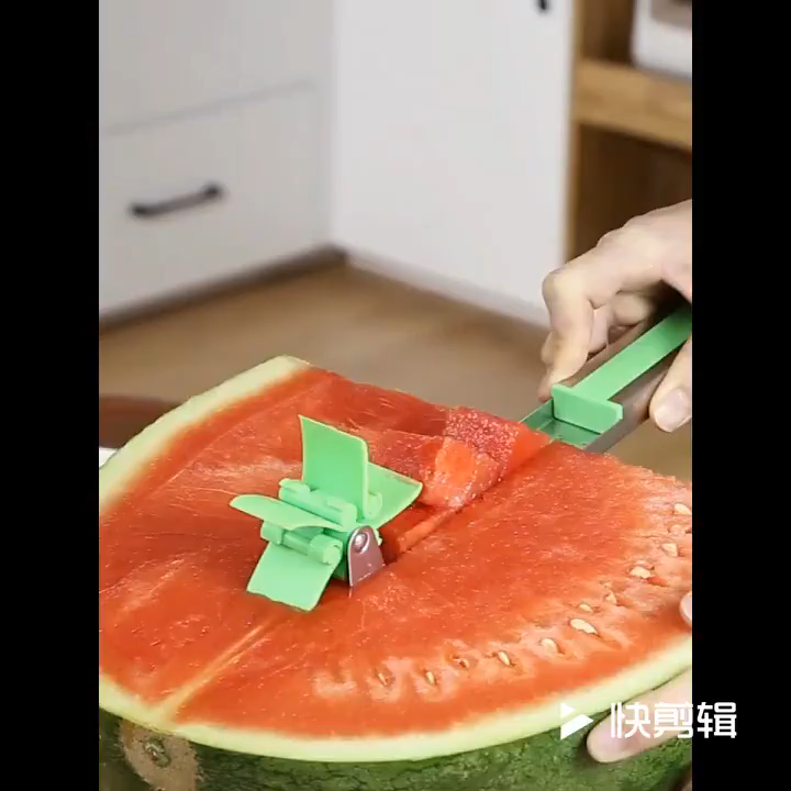 Photo of Watermelon Cutter Windmill Shape Slicer Watermelon Cutter Kitchen Gadgets
