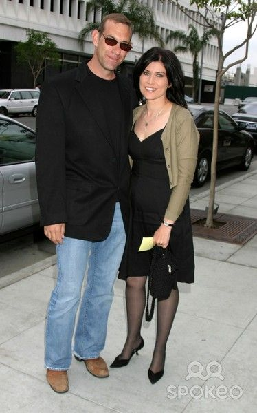 Nancy Mckeon with cool, Husband Marc Andrus
