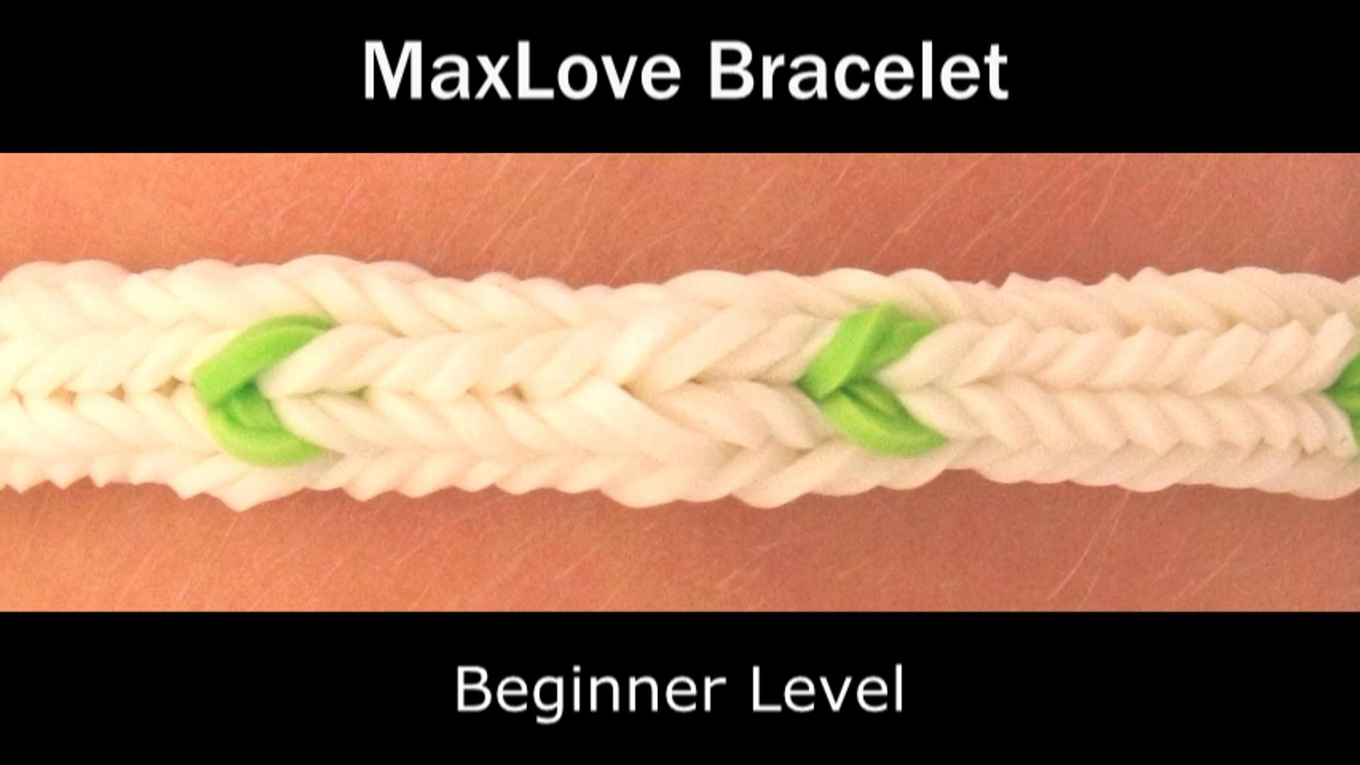 Rainbow loom maxlove bracelet rainbow monster loom