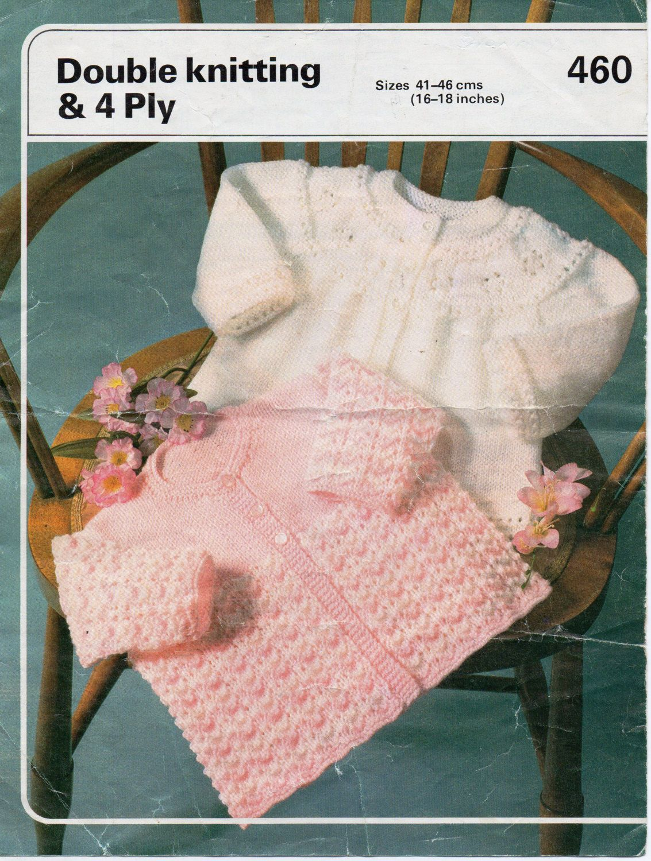baby matinee coats knitting pattern PDF matinee jackets cardigans 16 ...