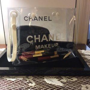 3cd60597401a CHANEL clear bag on Poshmark   Handbags   Fashion, Chanel, Clear bags