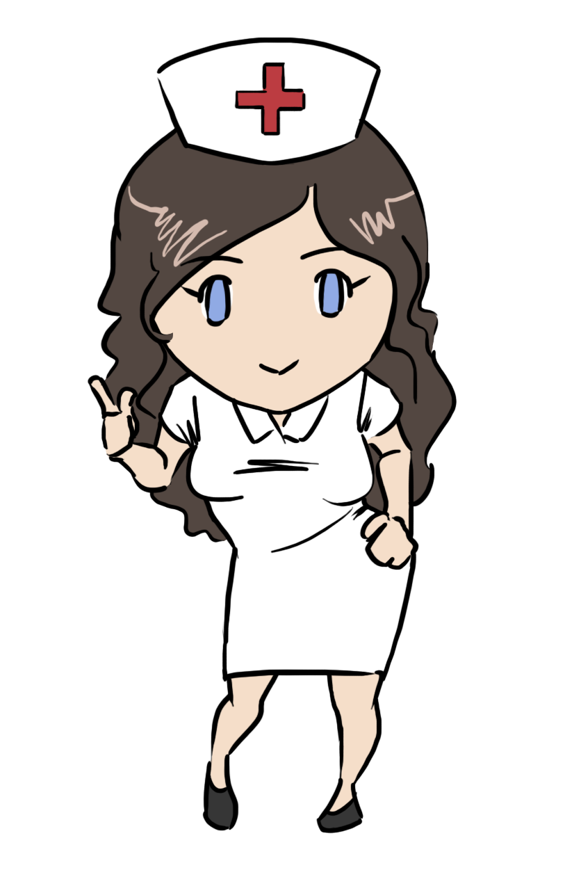 this gorgeous nurse clip art done in cute chibi style is free for rh pinterest com clipart of nurses teaching clip art of nursery rhymes