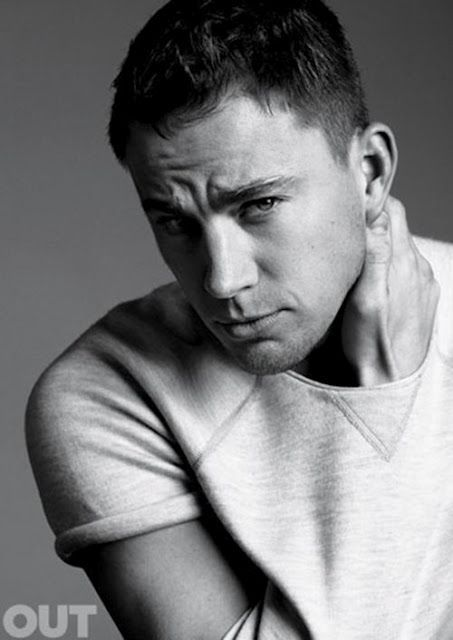 Celeb Diary: Channing Tatum in revista Out (Iunie 2012)
