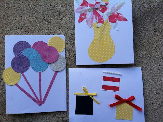 Kidmade birthday cards on TiTis TuTus – Pre Made Birthday Cards