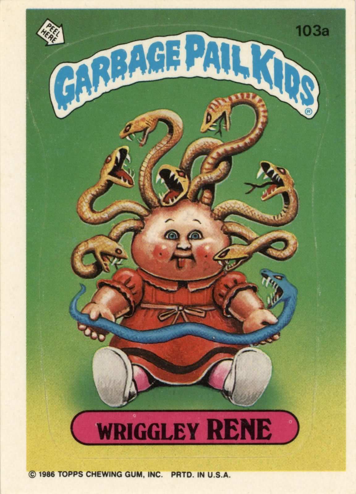 Monster Brains Garbage Pail Kids Garbage Pail Kids Cards Garbage