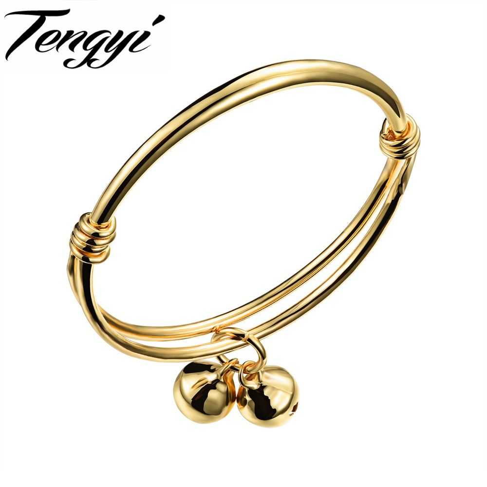 TENGYI Fashion Gold Color Lovely Children Kid Boy Girl Infant Baby ...