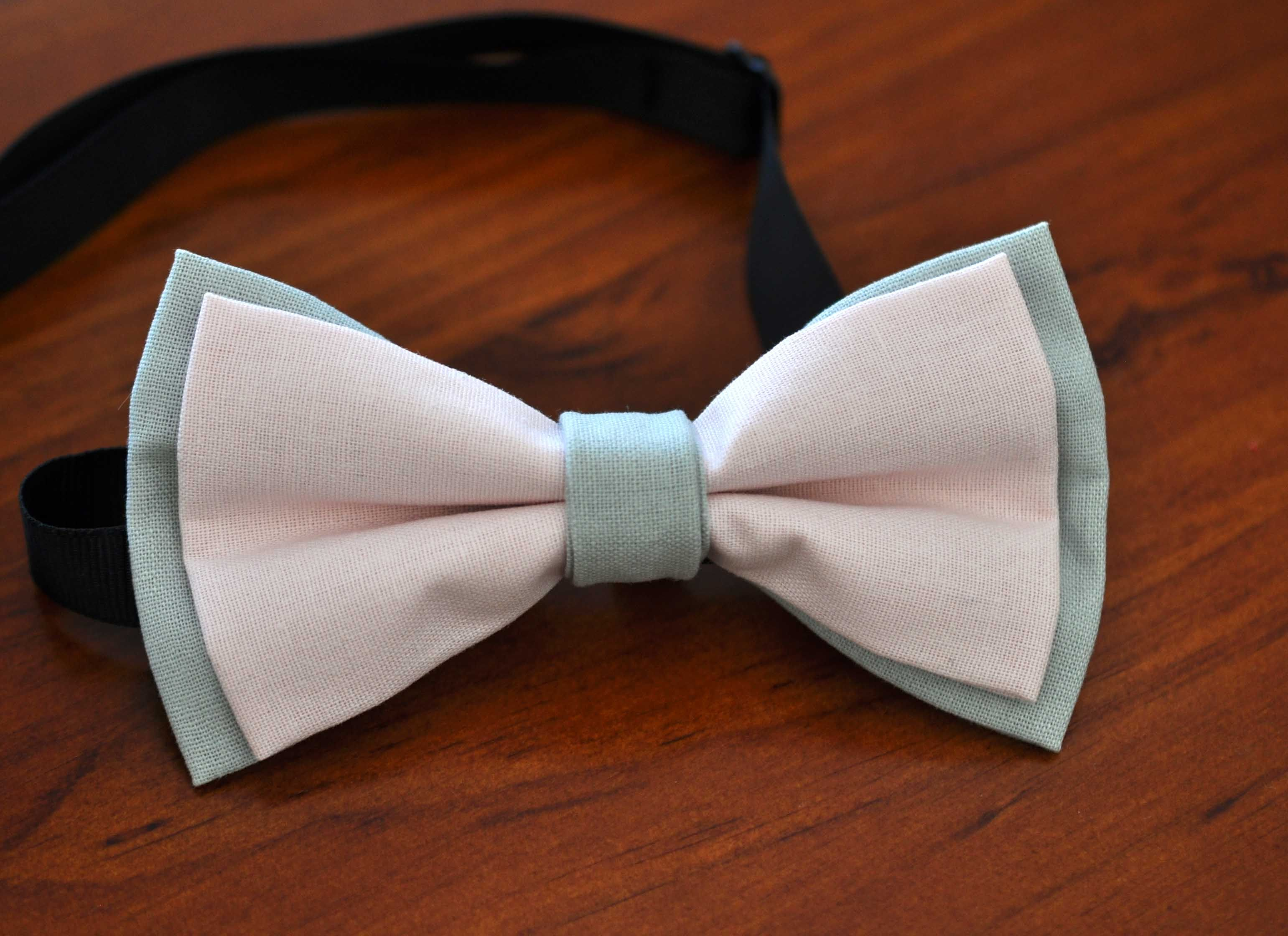 Baby Kids Boy Solid Baby Pink Velvet Bowtie Bow Tie 1 to 6 Years Old Wedding
