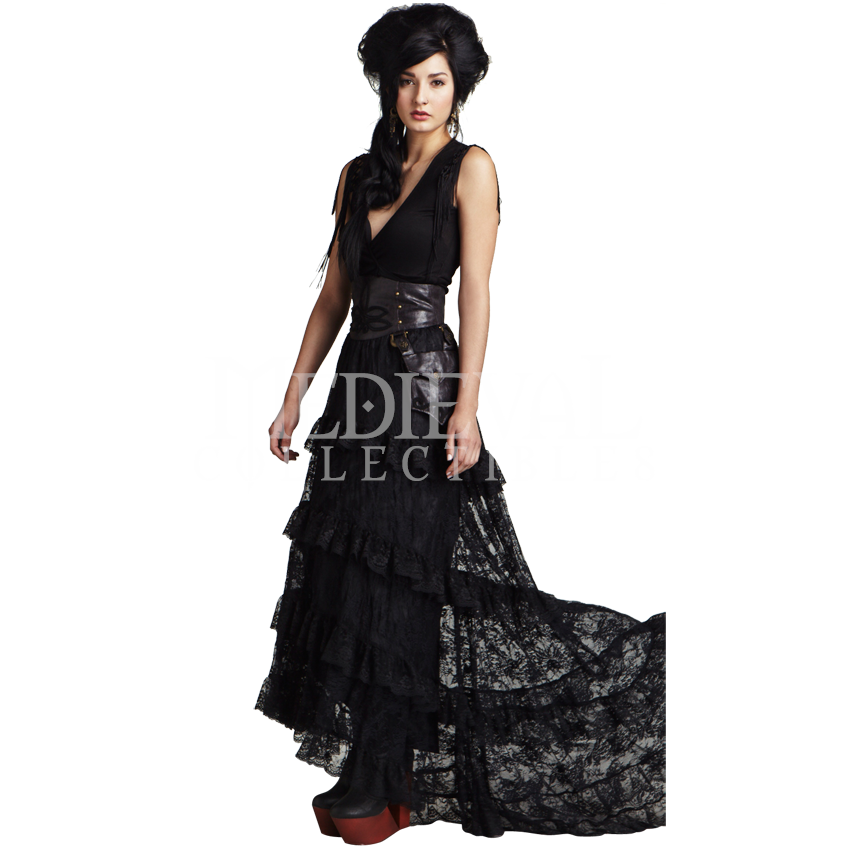 Medieval Collectibles - Winchester Gothic Long Lace Skirt
