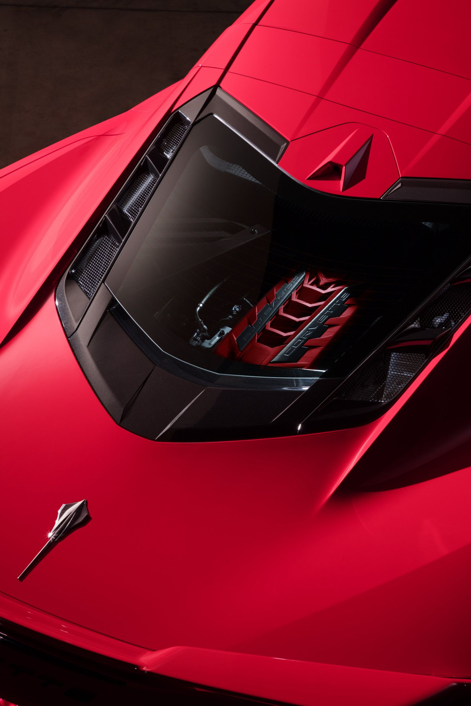 Zora S Dream Fulfilled Chevrolet Unveils 2020 C8 Corvette Stingray Mid Engine Power And Technolo Chevrolet Corvette Stingray Corvette Stingray Chevy Corvette