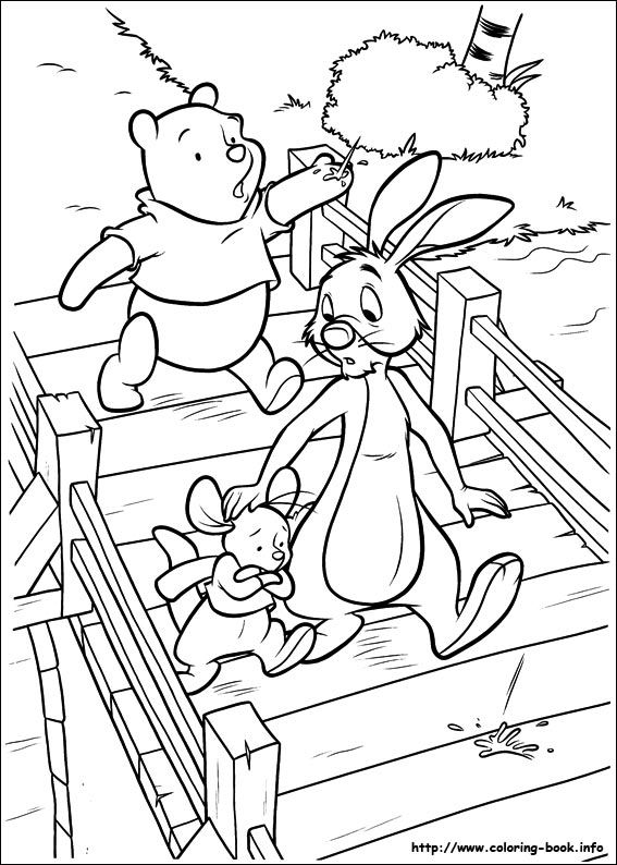 Piglet coloring picture Disney coloring pages printables