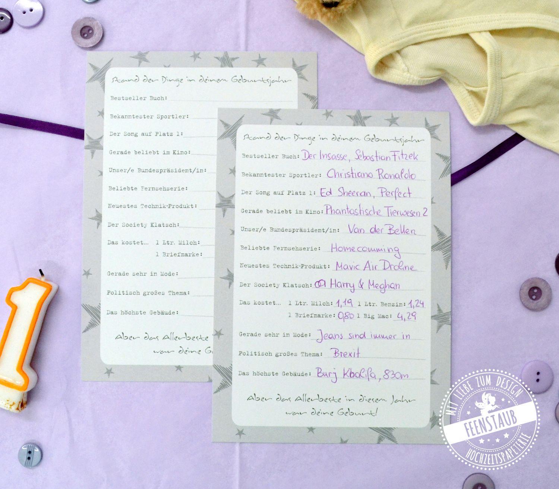Zeitkapsel Box Geschenkideen Baby Und Prints