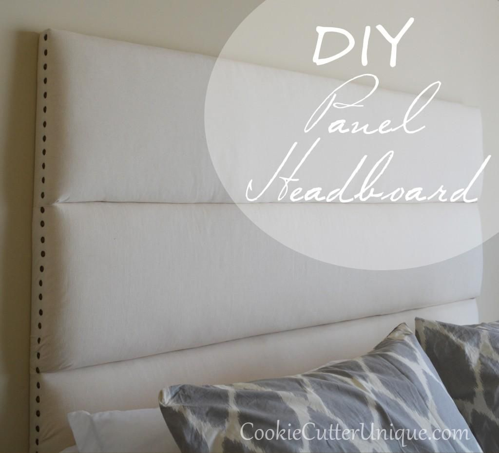 Diy Panel Headboard Furniture Diiy