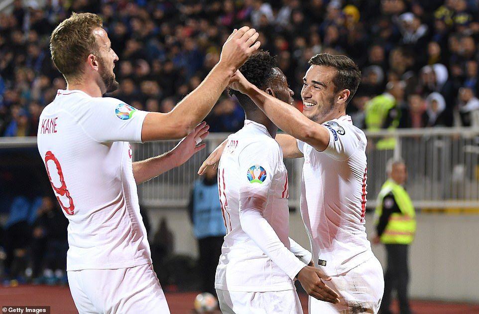 Kosovo 04 england match report england players