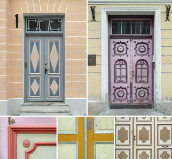 Doors we saw in Tallinn.