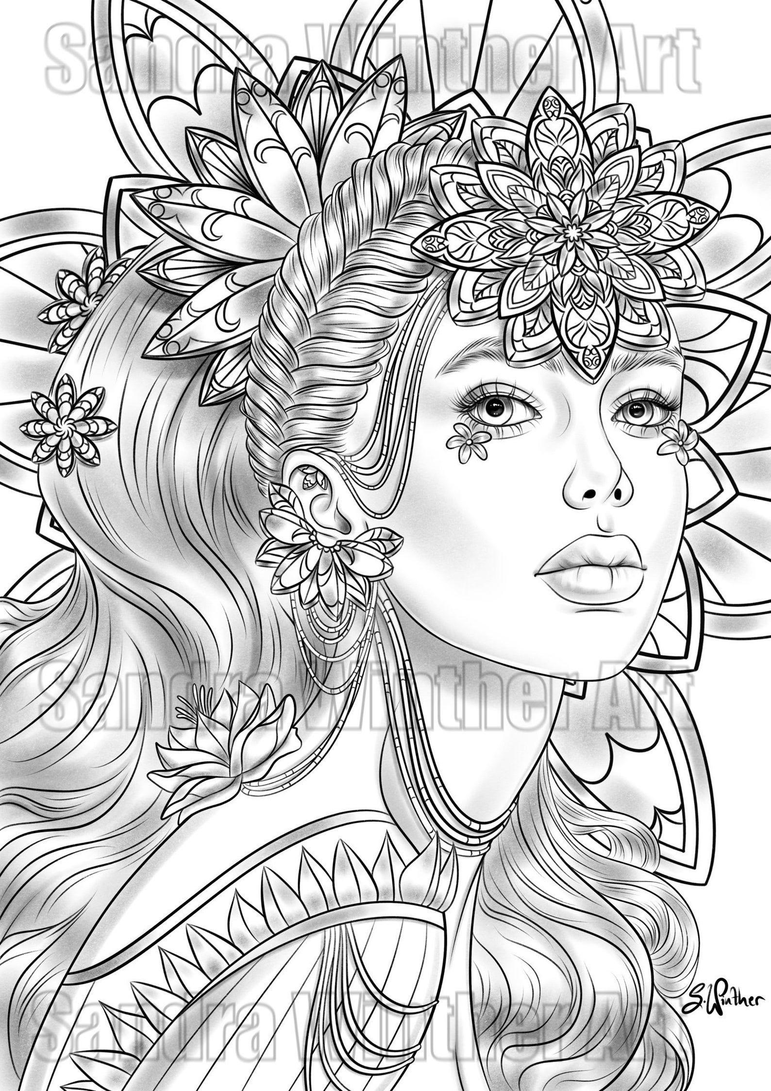 Pin On Beauty Art Drawings