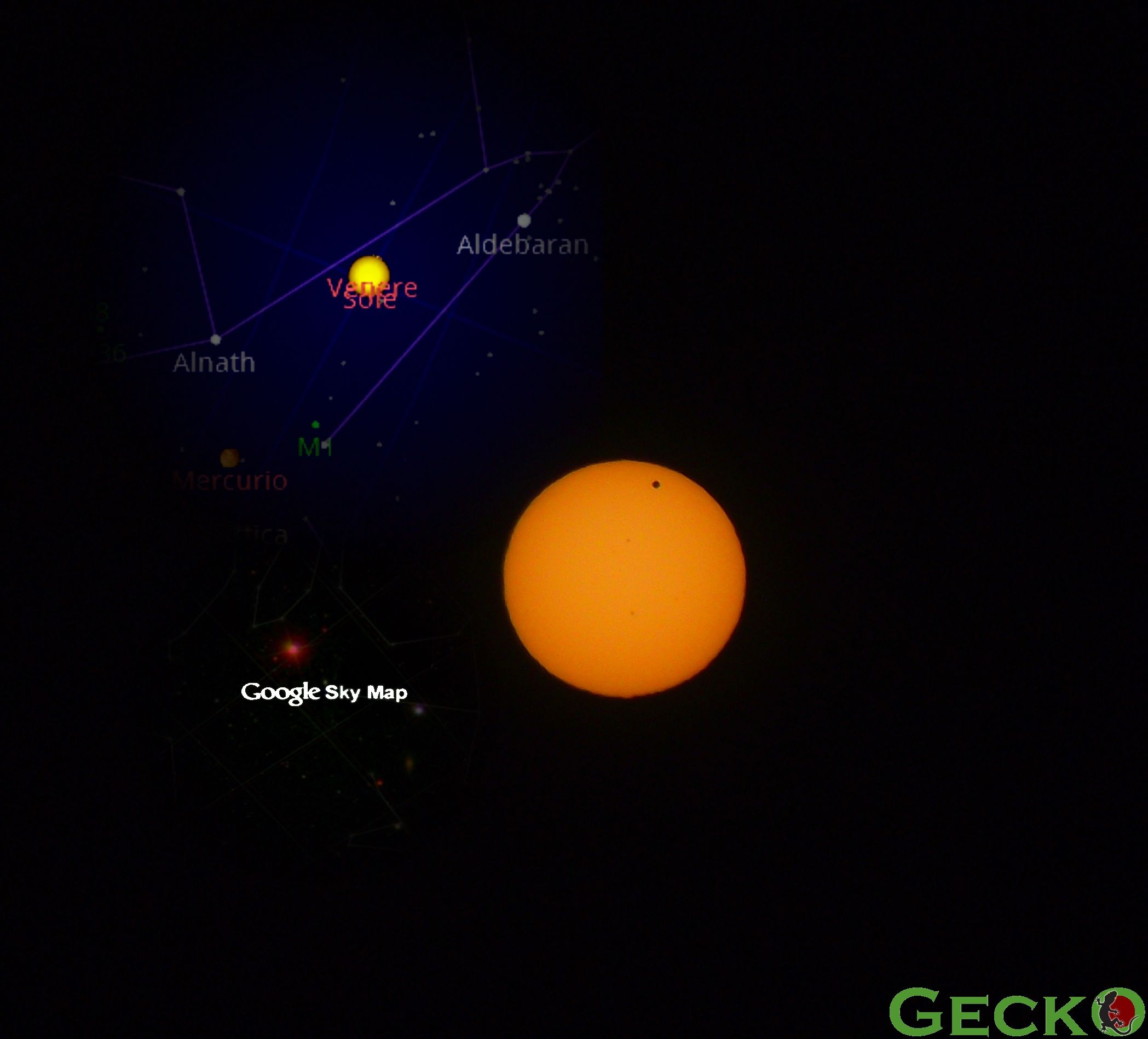 Venus Transit. The real one, and Google sky map view | Venus Transit on wisconsin voting map, wisconsin election map, olympics map, eclipse map, nasa map, mars map, astronomy map,