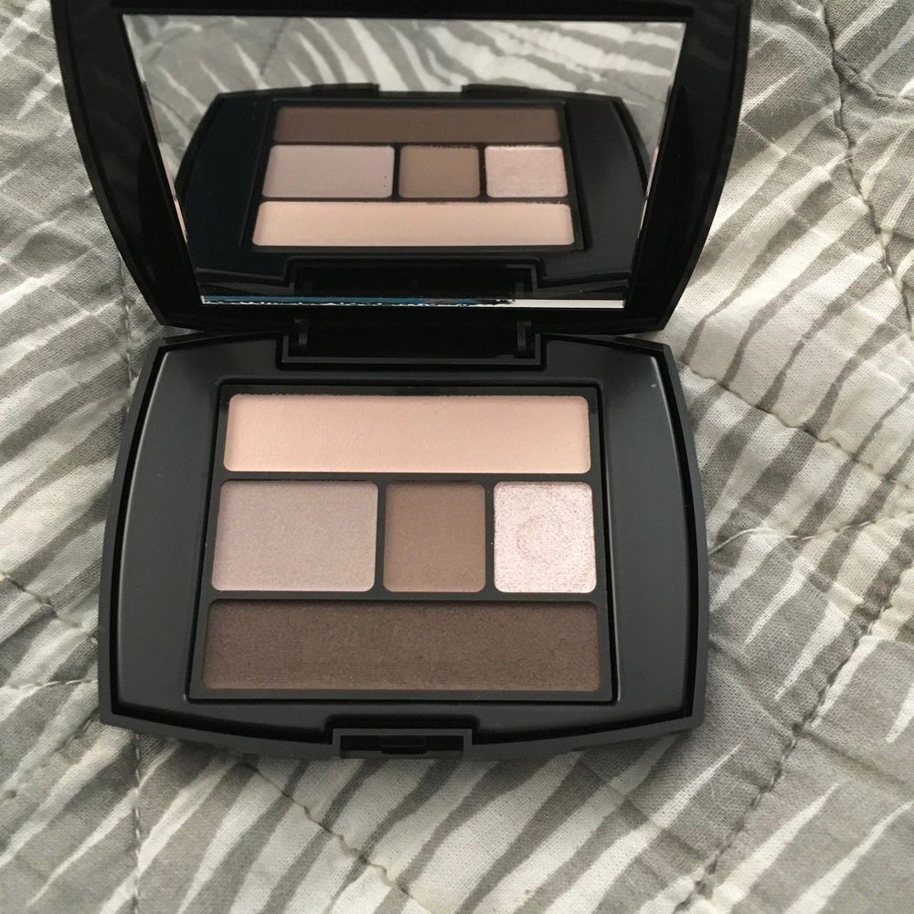 Lancome Color Design Eye Brightening All In One Palette 108 Beige Brulee Shadow Lancome With Images Color Design Lancome Shadow