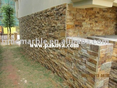 Slate Tile Exterior Wall And Floor Applications | Slate Wall Cladding.exterior  Wall Tile ,
