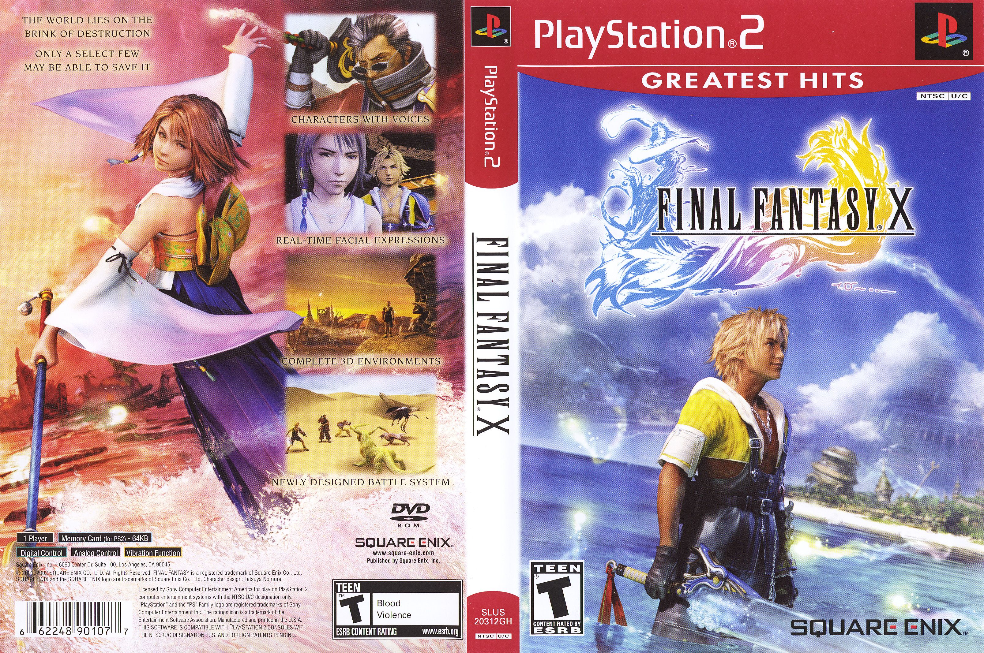Pin By Malcolm On Playstation 2 Game Covers Final Fantasy X