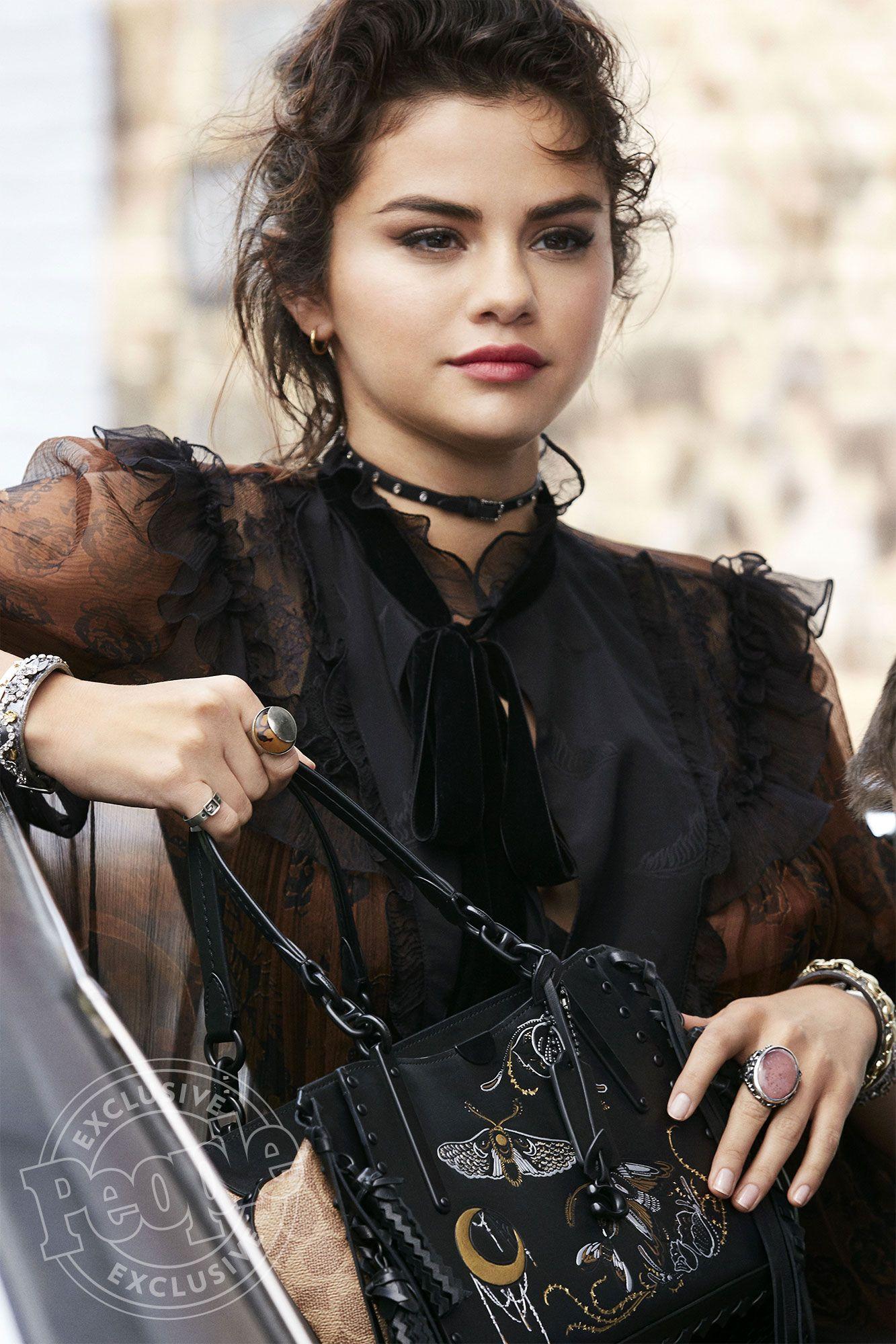 Go Behind the Scenes of Selena Gomezs Latest Coach Campaign