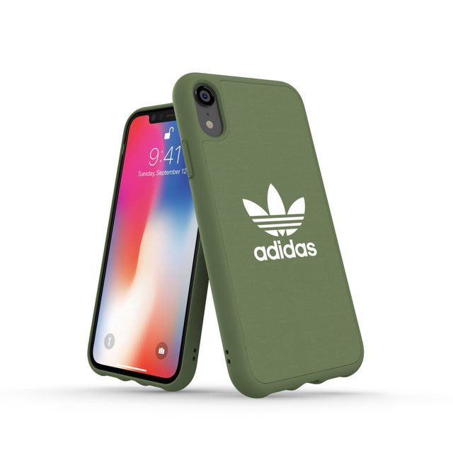 Moulded Case Canvas Iphone Xr Grun In 2020 Iphone Hulle Mobiltelefon Adidas Originals