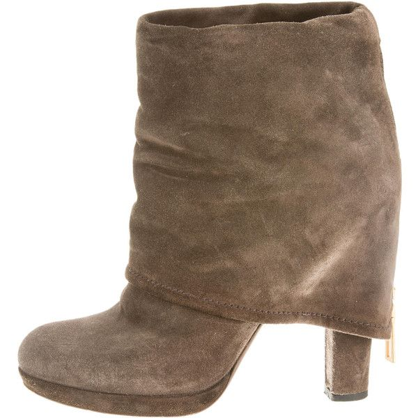 Pre-owned - Brown Suede Boots Prada Sale Cost Online Store Cheap With Paypal rtteqA0dZg