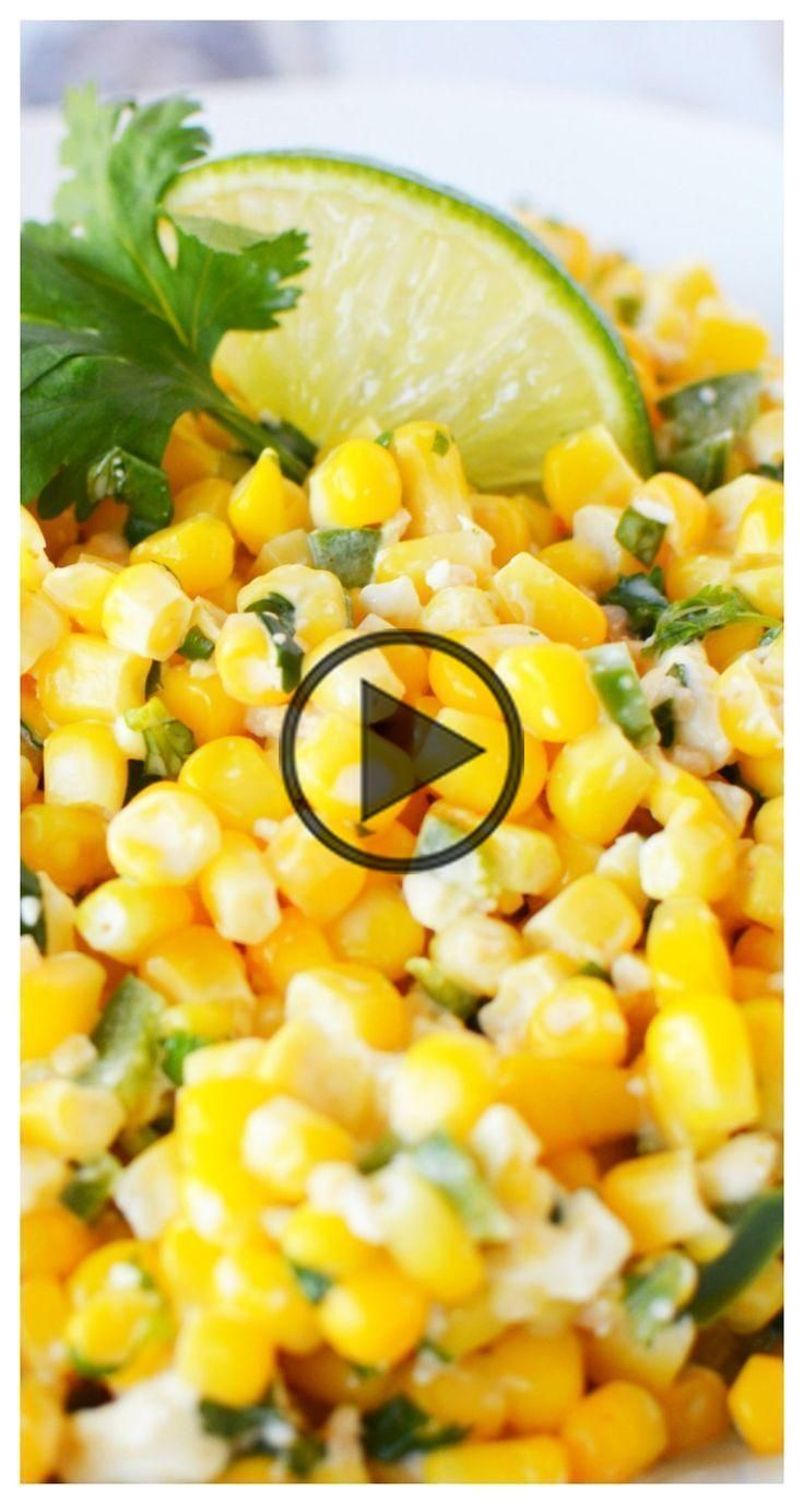 Mexican Street Corn Salad Recipe | Mexican Street Corn Salad skips the taco truck and lands a