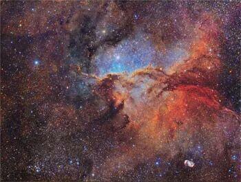 The Emission Nebula. Antonucci and Columbari ©