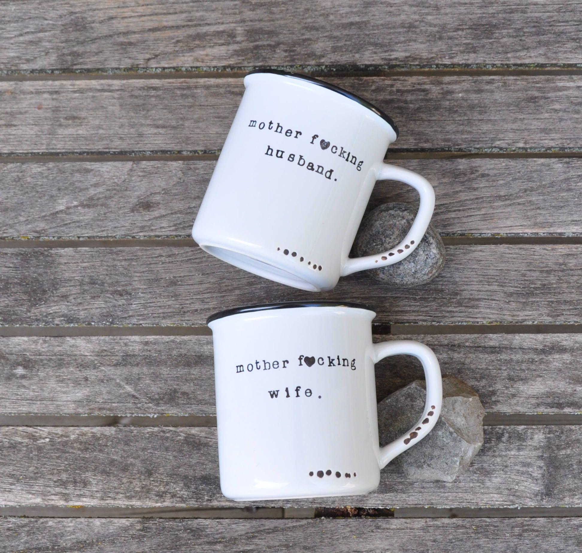 Couples Mugs Wedding Gift His And Hers Coffee Mug Set Anniversary