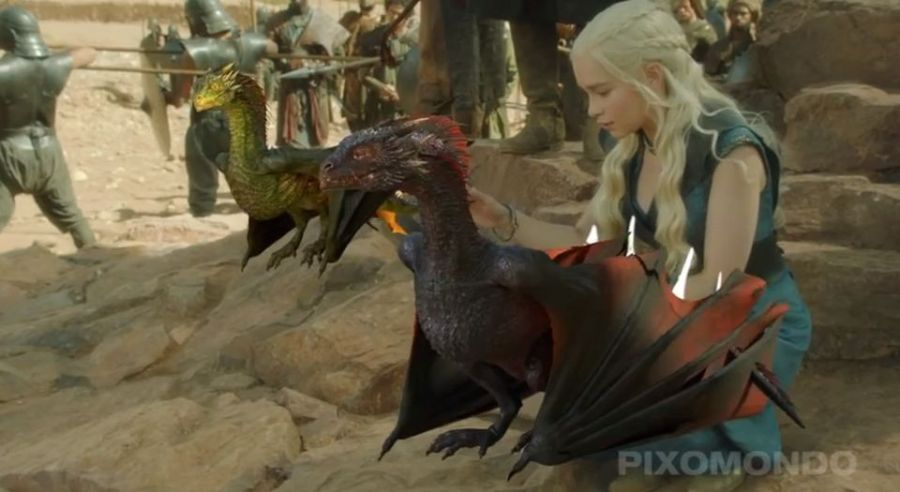 Making Of Game Of Thrones Season 3 With Images Digital Artists