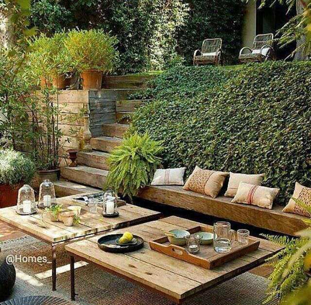 Garten idee  Garten-Idee | Garten | Pinterest | House goals and Patios