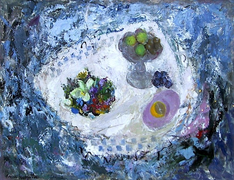 Scottish artist, Anne Redpath (1895 - 1965) is best known for her stilllifes. Description from pinkpagodastudio.blogspot.com. I searched for this on bing.com/images
