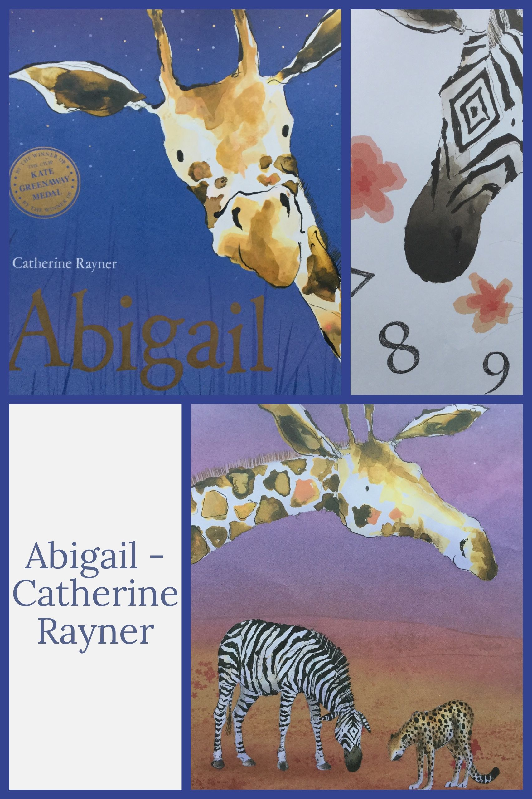 Abigail By Catherine Rayner Abigail The Giraffe Wants To